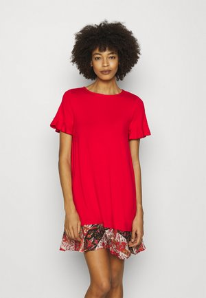 KALI - Jersey dress - red