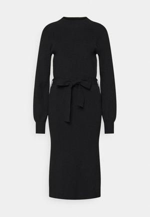 MALLORY LIKE DRESS - Strikket kjole - black
