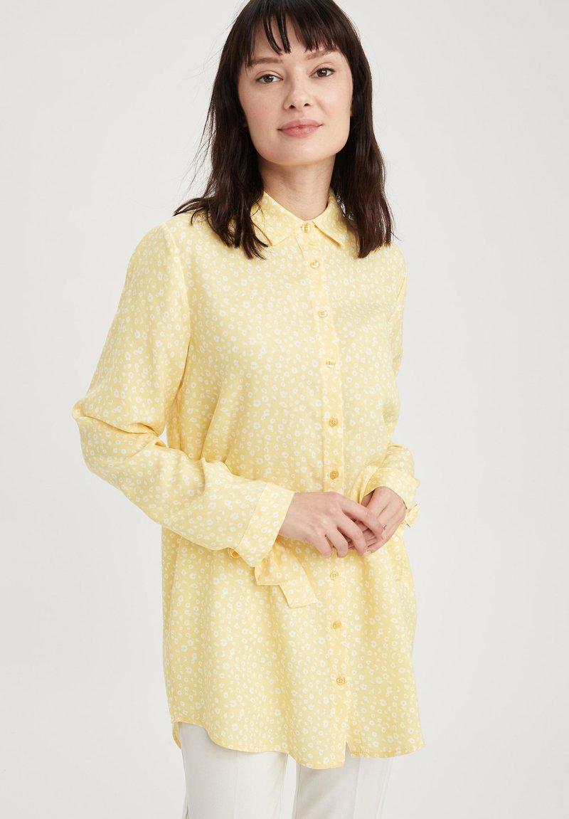DeFacto - Button-down blouse - yellow