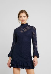 Love Triangle - MINUET DRESS - Vestido de cóctel - navy - 0