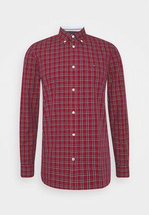SLIM SMALL TARTAN CHECK - Hemd - red