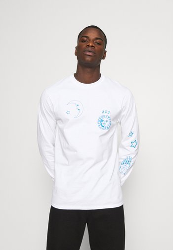 GRATEFULLY YOURS TEE - Long sleeved top - white