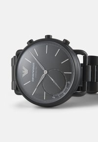 Emporio Armani Connected - AVIATOR CONNECTED - Chronograaf - black - 4