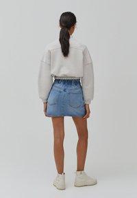 PULL&BEAR - A-line skirt - blue - 2