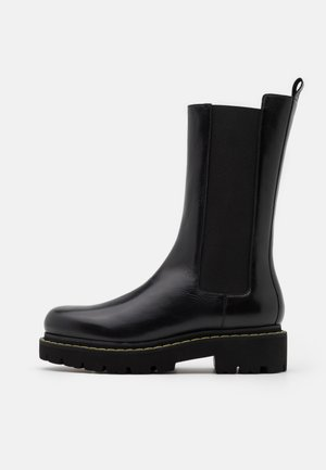 NATALIE BOOT - Platform boots - nero limousine