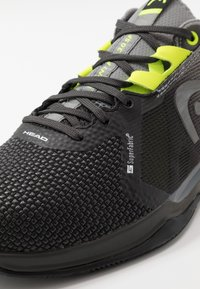 Head - SPRINT CLAY - Tenisové boty na antuku - black - 6