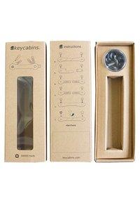 Keycabins - FRAME - Keyring - grey-frame - 5
