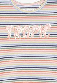 Staccato - STREIFEN TUNIKA KID - Top sdlouhým rukávem - neon peach - 3