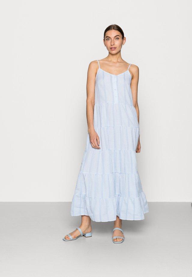 PAMINA DRESS - Vestito estivo - white/blue
