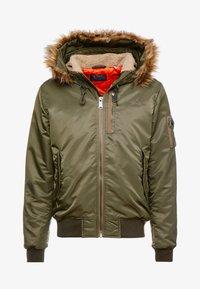 Schott - Light jacket - khaki - 5