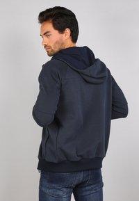 Gabbiano - Zip-up sweatshirt - navy - 2