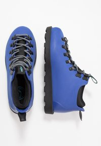 Native - FITZSIMMONS  - Lace-up ankle boots - reflex blue/jiffy black - 1