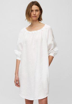 CARMEN - Day dress - white linen