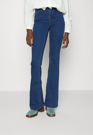 LAWLESS  - Flared Jeans - blue