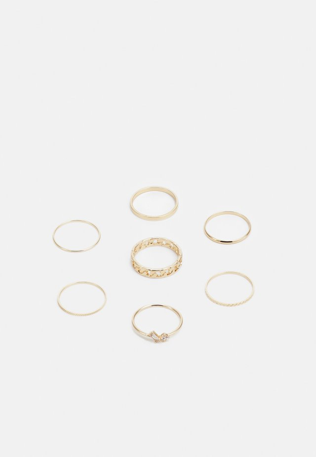 FINE DAINTY 7 PACK - Ring - gold-coloured