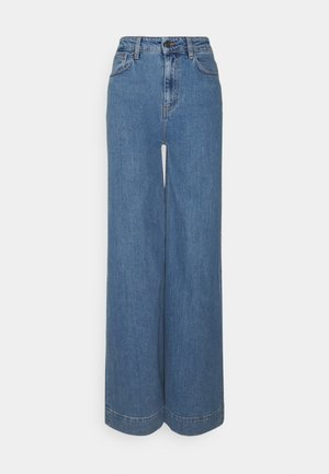 BELLIS WIDE - Flared Jeans - medium denim