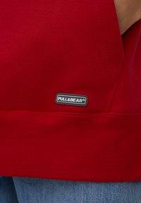 PULL&BEAR - Huppari - mottled red - 9