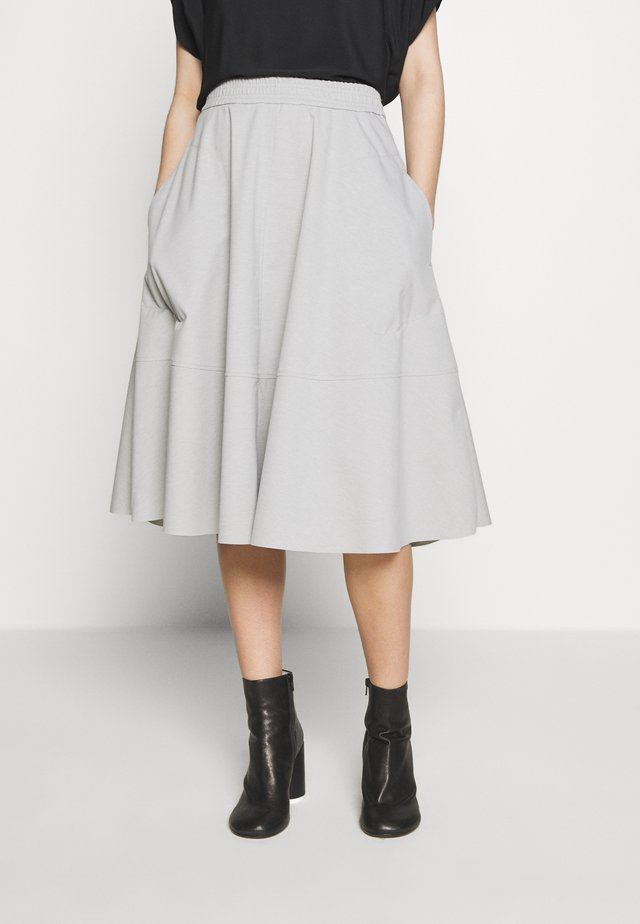 JALOMA - A-line skirt - silver