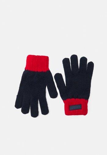 YOUTH GLOVES UNISEX - Gloves - blue