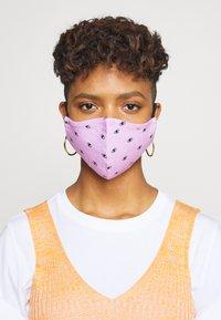 Even&Odd - 3 PACK - Látková maska - multi/lilac - 0