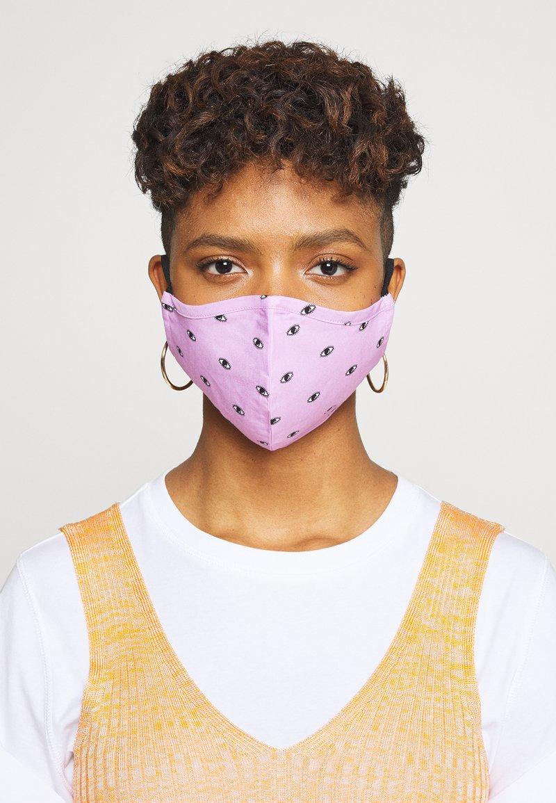 Even&Odd - 3 PACK - Látková maska - multi/lilac