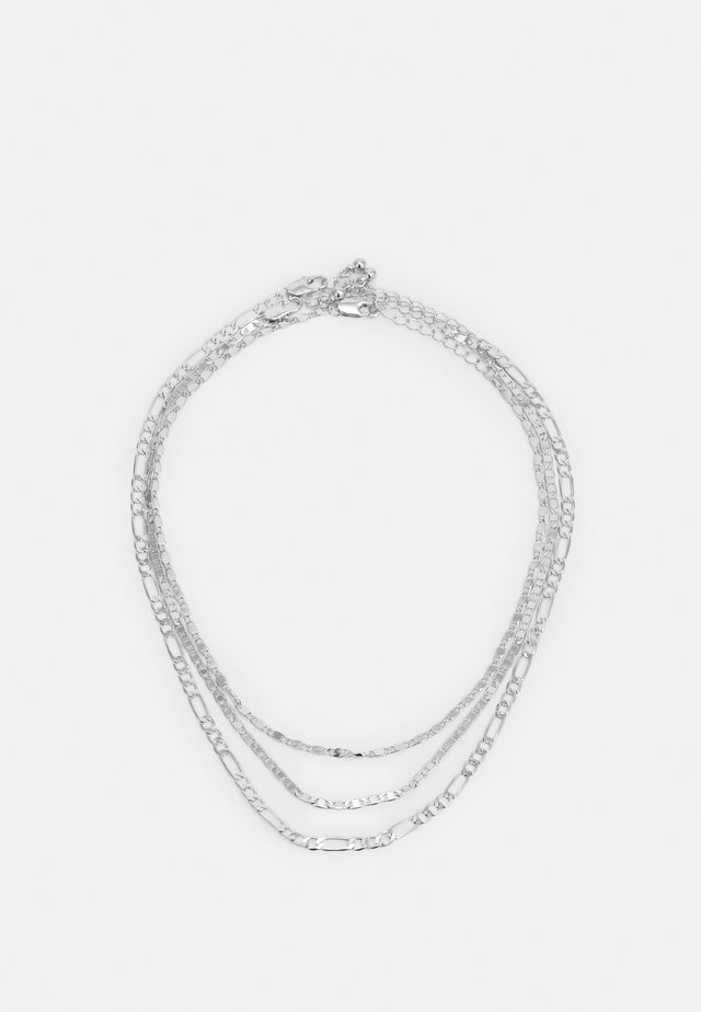 PCDIDDY COMBI NECKLACE 3 PACK - Necklace - silver-coloured