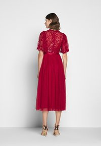 Needle & Thread - PATCHWORK BODICE BALLERINA DRESS EXCLUSIVE - Cocktail dress / Party dress - deep red - 2