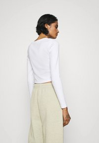 Even&Odd - 3 PACK - Long sleeved top - black/white/light grey - 2
