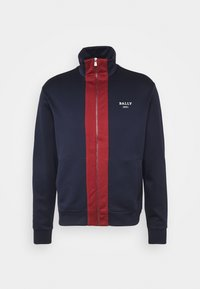Bally - Cardigan - ink/red - 4