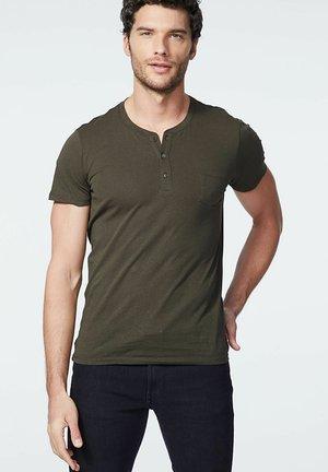 Basic T-shirt - kaki foncé