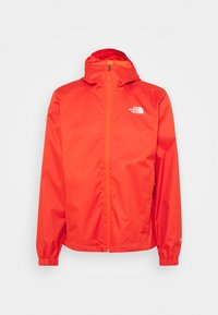 The North Face - MENS QUEST JACKET - Hardshell jacket - orange/mottled black - 4