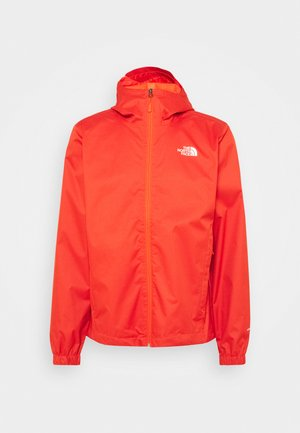 MENS QUEST JACKET - Hardshell-jakke - orange/mottled black