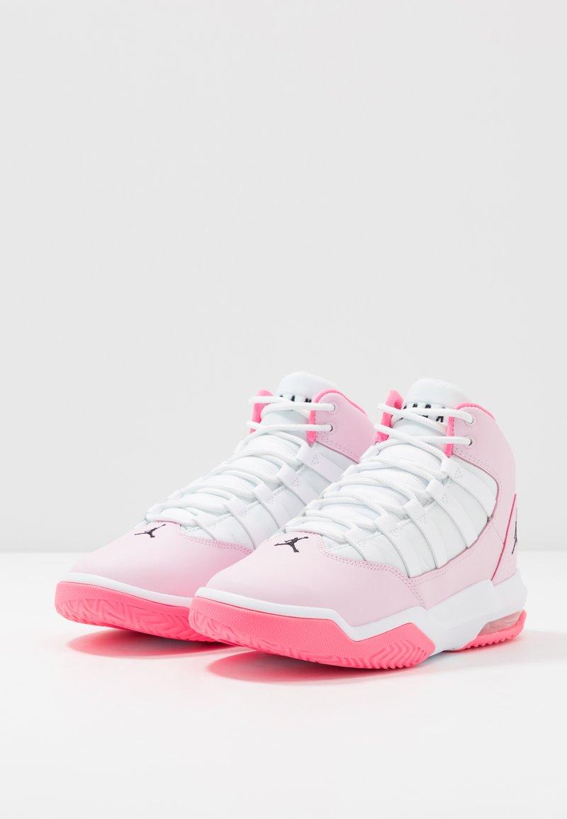 Bandido Locura Móvil  Jordan MAX AURA - Zapatillas de baloncesto - pink/black/white/digital  pink/rosa - Zalando.es