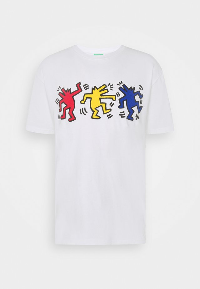 ARTWORK - T-shirt imprimé - white