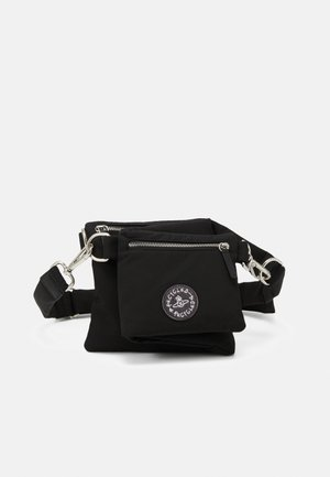 CLINT BUM BAG CROSSBODY UNISEX - Saszetka nerka - black
