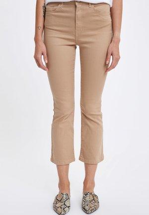 Bootcut jeans - Beige