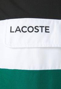 Lacoste Sport - TRACKSUIT - Tracksuit - black/bottle green - 8