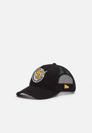 RACE PATCH TRUCKER UNISEX - Casquette - black