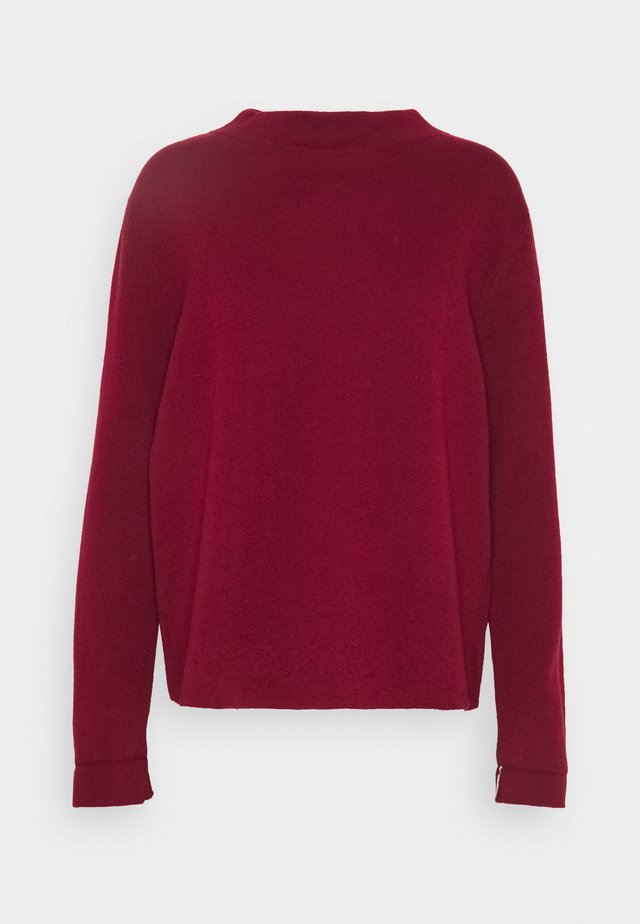 CORE - Strikpullover /Striktrøjer - bordeaux red