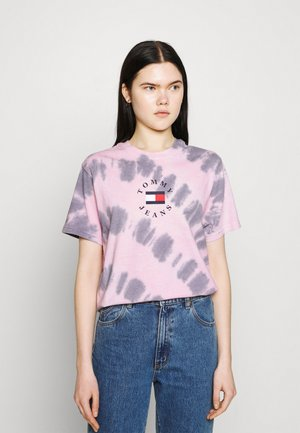 TIE DYE TEE - Camiseta estampada - pink