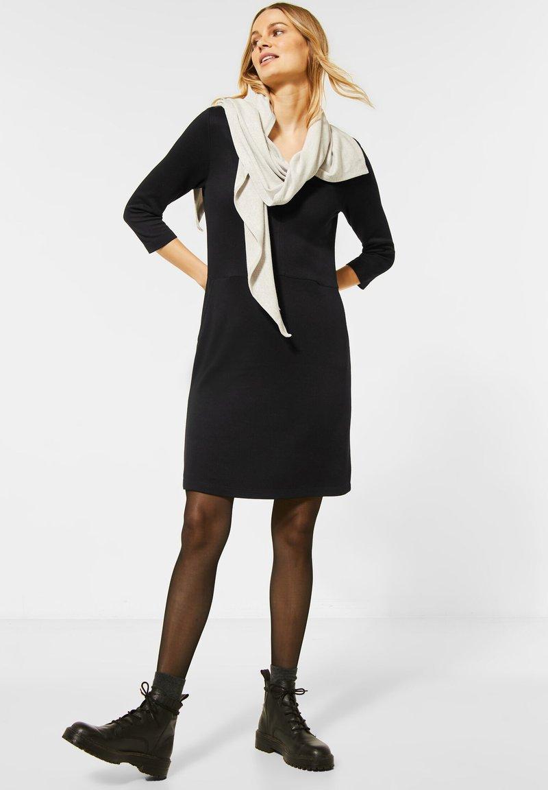 Cecil - Jersey dress - schwarz