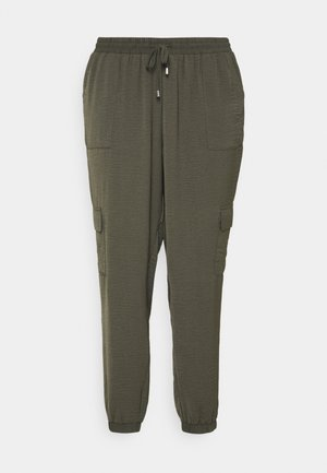 CAJOY LONG PANT - Trousers - black olive