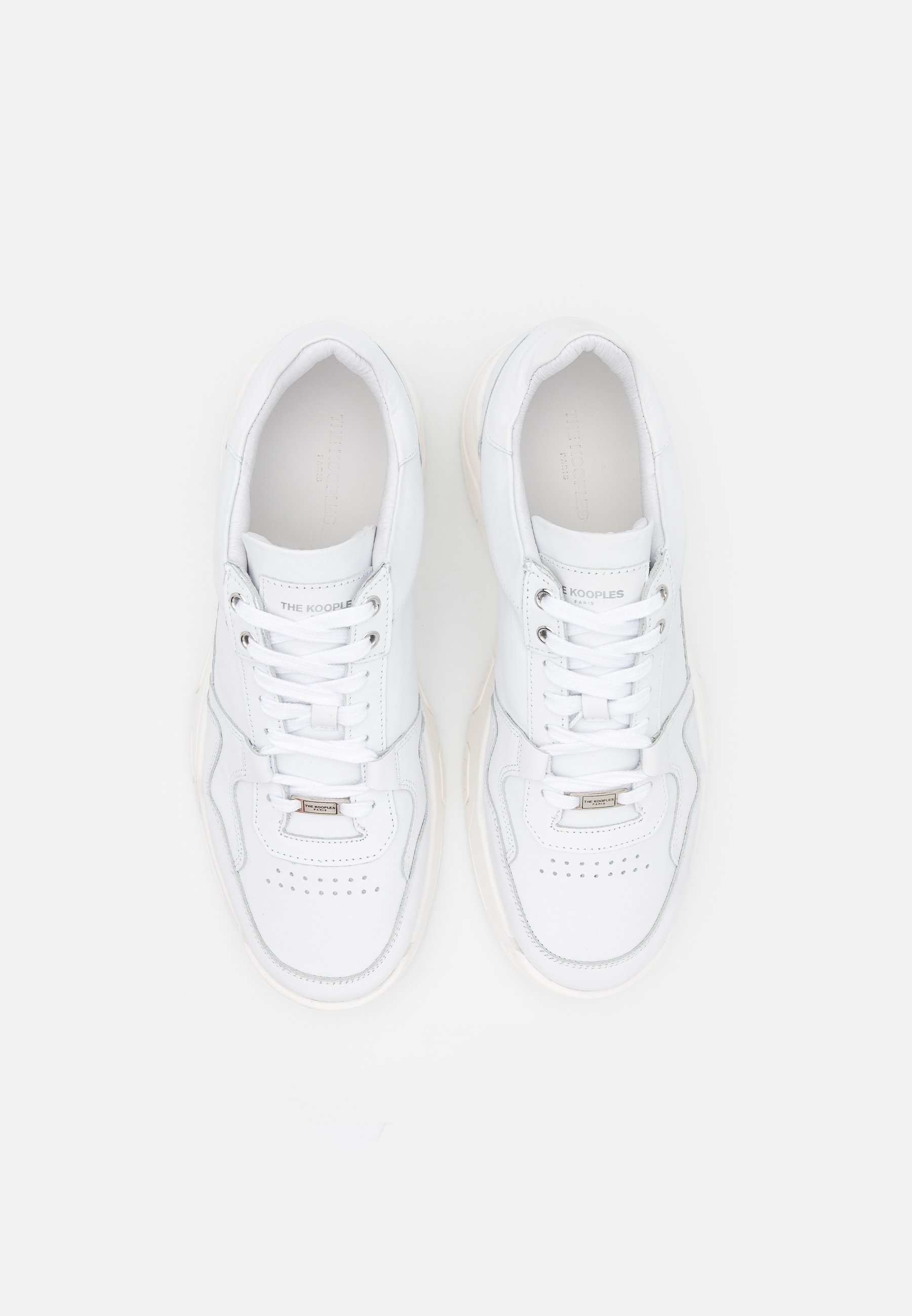 The Kooples Joggesko white Zalando.no