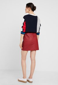 Ibana - EASY - A-line skirt - red - 2