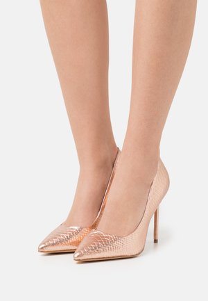HARLEM - Classic heels - rose gold