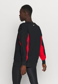 Nike Performance - DRY GET FIT FC  - Sweatshirt - black/chile red/white - 2