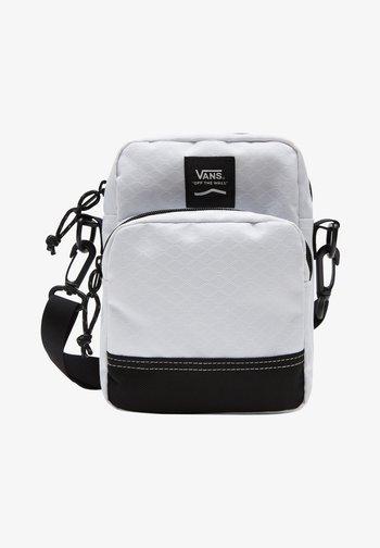 UA CONSTRUCT DX SHOULDER BAG - Across body bag - white