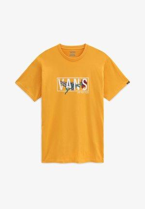 MN THORNED SS - T-shirt print - golden glow