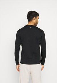 Calvin Klein Performance - LONG SLEEVE - Long sleeved top - black - 2