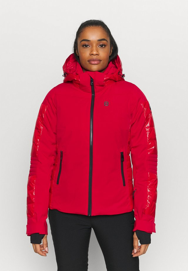 ALIZA JACKET - Skijakke - red